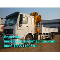 Wholesale XCMG CCC Truck Mounted Crane With Telescopic Boom 5 Ton , 13m Arm Length from china suppliers