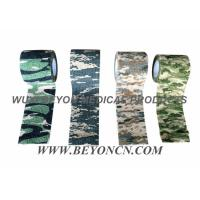 Wholesale Camouflage Cohesive Wrap Non Woven Bandage For Military Use Wrapping Rifles from china suppliers