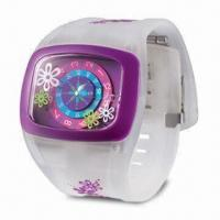 Wholesale Silicone Watch with Novel Design, Customized Logos Welcomed, OEM Orders Welcomed from china suppliers