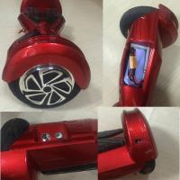 China 6.5inch LED light bluetooth music smart Self balancing Scooter w removable battery on sale