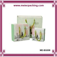 Wholesale Small paper carrier bag/Shopping paper gift box/Ribbon handle cardboard bag ME-BG008 from china suppliers