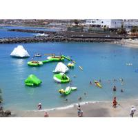 Wholesale Sea Inflatable Floating Water Park , Commercial Ultimate Inflatable Slide Park from china suppliers