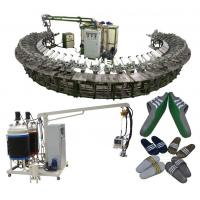 Wholesale Good quality pu shoe soles pouring machine with rotary production line from china suppliers