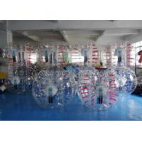 China TPU Fluorescent Adult Bumper Bubble Football Ball With Digital Printing on sale
