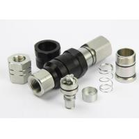Wholesale Avoiding Toughness Flat Faced Hydraulic Coupler Chrome Three LSQ-VEP Thread Locked Type from china suppliers
