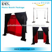 Wholesale wholesale low price photo booth pipe and draping from china suppliers