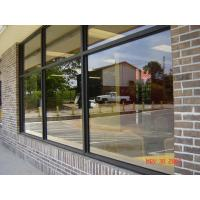 China Architectural Reflective Coated Glass, Building windows Safety Tempered Glass with polish edge on sale