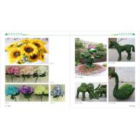 Wholesale plastic fake green mini bonsai plant sculpture artificial art flower artificial green trees plants plastic plants from china suppliers