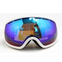 Wholesale Comfort Ladies Ski Glasses Polarized Snowboard Goggles Purple , Adjustable Strap from china suppliers