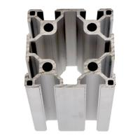 Heat Processing Square Industrial Aluminum Extrusion Profile Series 6060 For Table for sale