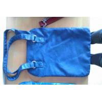Buy cheap Blue Synthetic Leather Thickness 1.0mm Genuine Leather PU Bag Material With from wholesalers