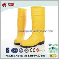 Wholesale 828 Matte PVC Waterproof Construction Working Safety Rain Boots from china suppliers