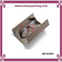 Wholesale White lip and bottom paper glass box, recycle rigid paper cardboard box  ME-SG005 from china suppliers