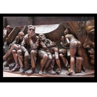 Wholesale Vivid High Relief Sculpture Figure , Famous Relief Sculpture European Style from china suppliers