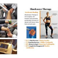 Wholesale Physiotherapy Equipments ESWT Shockwave Therapy Machine 22Hz Frequency Knee Pain Relief from china suppliers