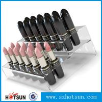 Quality Promotional Acrylic Comestic Store Lipstick Display Stand for sale