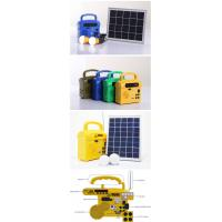 10w solar lighting kits with 2 LED lamps, phone charger for hot sale