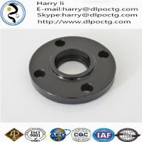 China high quantity orifice flanges black malleable iron threaded floor flanges on sale
