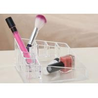 Wholesale Clear Rack Acrylic Makeup Display Stand Portable For Makeup Organizer from china suppliers