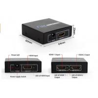 Quality Home Theater  system !  Metal case 2K 4K 1 hdmi in 2 hdmi out HDMI Splitter 1x2  with HDCP key for sale