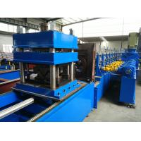 Mobile Cutting Type W310 Guardrail Beam Roll Forming Machine for sale