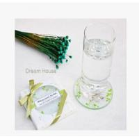 Wholesale New creative promotion gift product wedding gift party glass coaster mat from china suppliers