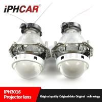 Wholesale IPHCAR Wholesale LHD/RHD Light Universal HID Bi-xenon Headlight Projector Lens HD Car Headlight from china suppliers