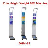 Wholesale Ultrasonic Height Measuring Scale , Height And Weight Machine With Music from china suppliers