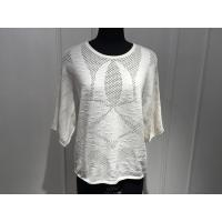 Wholesale Beautiful Women'S Cotton Pullover Sweaters Hollow Out Knitting OEM / ODM Available from china suppliers