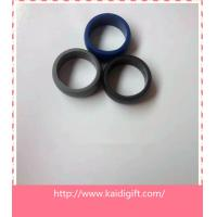 Blank silicone custom silicone finger rings for sale