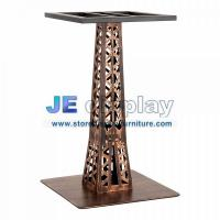 Wholesale Custom furniture of stainless steel cafe table base handle made vintage in brass finish from china suppliers