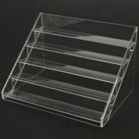 Wholesale 13 Years Factory Clear Acrylic Nail Polish Table Display Rack / Acrylic Nail Polish stand from china suppliers