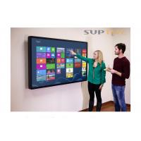 China 70 Inch Smart Interactive Whiteboard With Integrated Projector Aluminum Frame on sale