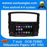 Wholesale Ouchuangbo Indash Car GPS Navi Stereo System for Mitsubishi Pajero V97 /V93 2006-2011 Android 4.4 DVD Radio OCB-7059D from china suppliers