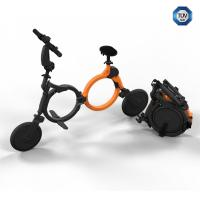 China Intelligent electric folding bike lightweight 9.8kg , lightweight electric bicycle on sale