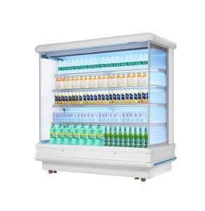 Buy cheap 12ft Long Grocery Store Multideck Open Chiller LED Lighting Multideck Display Fridge from wholesalers