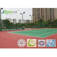 Professional Multi Sport Court Surface , Tennis Court Flooring Material