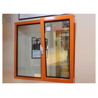 Commercial Double Glazed Tilt And Turn Windows Vertical / Horizontal Opening for sale