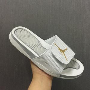 China Nike air jordan slipper JORDAN HYDRO 4 5 6 7 8 12 men women slippers on sale