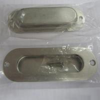 Wholesale Oblong cup flush pull handle for cabinet/drawer/dresser/wardrobe/furniture/kitchen/door from china suppliers