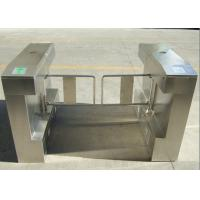 Quality Stainless Steel Turnstile Security Systems Mess Hall Barrier Swing Turnstiles for sale