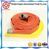 Wholesale PVC colorful  high performance rubber lining firefighter hose synthetic rubber fire hose from china suppliers