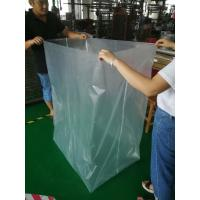Wholesale Clear Plastic PVC Mattress Cover Bag , Nylon Plastic Bag With Zipper Closure from china suppliers