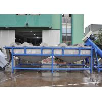 304 Stainless Steel Plastic Washing Line Easy Operation High Automatic Level For PE PP for sale
