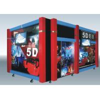 Wholesale Home Hydraulic / Electric Moiton 5D Theater / 7d Cinema Simulator from china suppliers