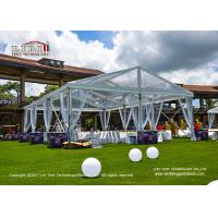 Wholesale 10m Width 15m Length Transparent Top Tent For 150 People Wedding Party from china suppliers