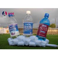OEM Customed Inflatable Wine Bottle / Inflatable Replicas Model For Advertising