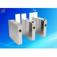 Wholesale 304 Stainless Steel Outdoor Flap Barrier Turnstile Noiseless Speed Security Gate from china suppliers