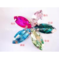 Wholesale Top sale sew on rhinestone claw setting crystals Glass stone Boat shape from china suppliers