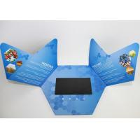 China promotional handmade Flip Book Video , company intruction lcd video mailer on sale